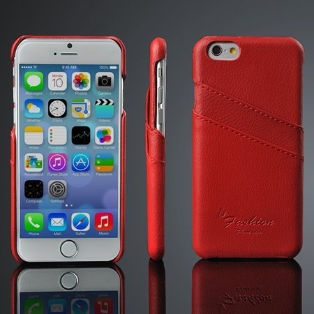 2015 New Year Retro Luxury Pu Leather Case For Iphone 6 4.7Inch Ha 2045849735-4-Red