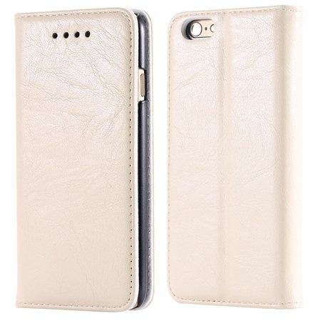 Soft Feel Original Pu Leather Case For Iphone 6 Flip Case Book Sta 32253957865-3-Rice