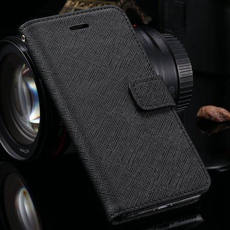 Vintage Luxury Genuine Leather Case For Iphone 6 4.7Inch Flip Stan 2041427538-1-Black