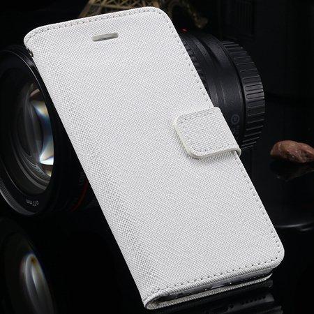 Vintage Luxury Genuine Leather Case For Iphone 6 4.7Inch Flip Stan 2041427538-2-White