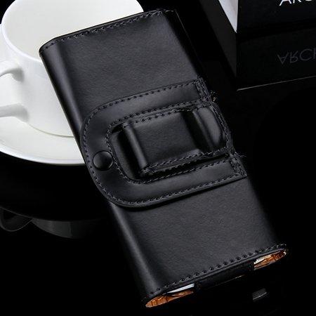 Retro Luxury Universal Belt Clip Leather Case For Iphone 6 4.7 Inc 32297378546-1-Black