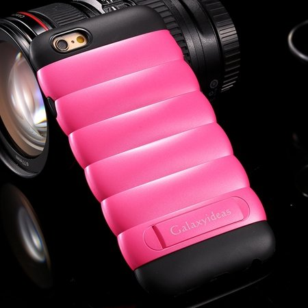 Lovely Unique Caterpillars Soft Tpu Case For Iphone 6 4.7Inch Kick 32301613007-4-Hot Pink