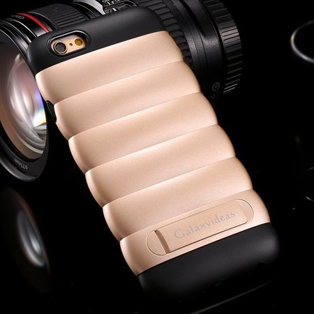 Lovely Unique Caterpillars Soft Tpu Case For Iphone 6 4.7Inch Kick 32301613007-6-Gold