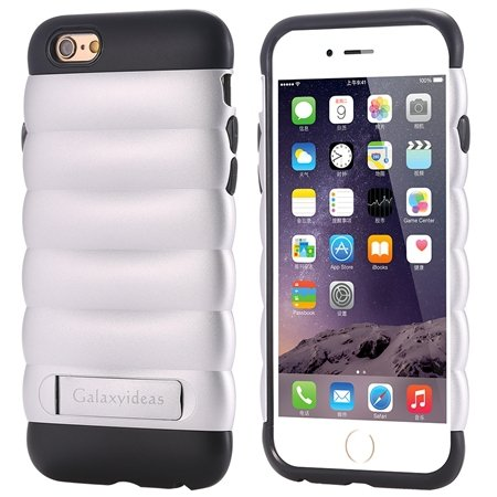 Cute Luxury Pc+ Tpu Hybird Armor Case For Iphone 6 4.7Inch Mobile  32302464039-1-Sliver