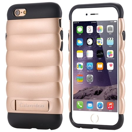 Cute Luxury Pc+ Tpu Hybird Armor Case For Iphone 6 4.7Inch Mobile  32302464039-6-Gold