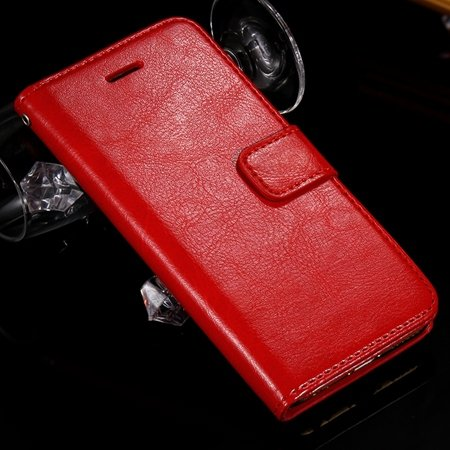 For Iphone 6 Filp Case Retro Luxury Men Women Pu Leather Case For  2045546292-3-Red