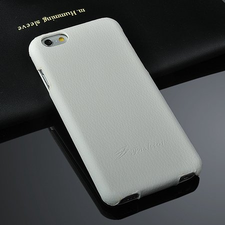 For Iphone 6 Case Luxury Lychee Pattern Geniune Flip Leather Case  2045879452-1-White