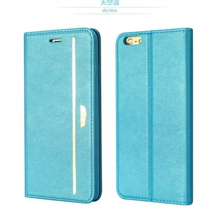 Gold Luxury Pu Leather Case For Iphone 6 4.7Inch Phone Cases Origi 2055651879-2-Blue