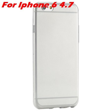 """High Quality Soft Back Cover Shell For Iphone6 4.7"""""""" Ultra Light Cl 32222098041-8-Gray For Iphone 6"""