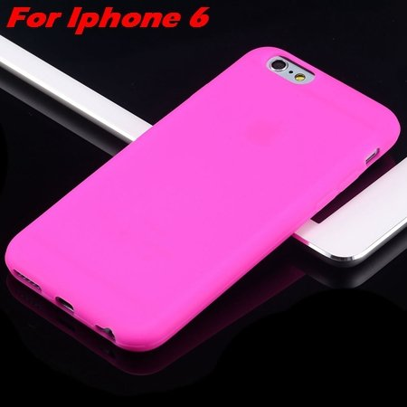 For Iphone 6 Tpu Case Cindy Color Cute Soft Silicone Case For Ipho 2051373334-4-Hot Pink For I6