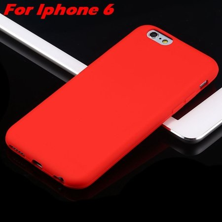 For Iphone 6 Tpu Case Cindy Color Cute Soft Silicone Case For Ipho 2051373334-6-Red For Iphone 6