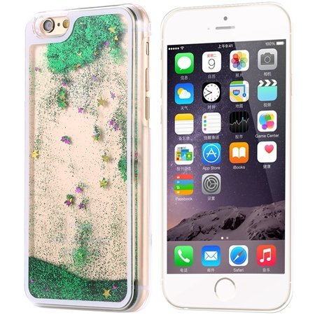 """Ultra Thin High Quality Pc Transparent Case For Iphone 6 Plus 5.5"""""""" 32222441010-3-Green"""
