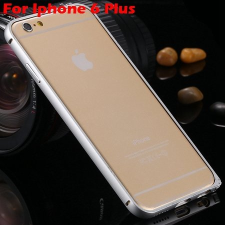 Ultra Thin Aluminum Bumper Luxury Frame Metal Case For Iphone 6 Pl 32214515559-6-Sliver For I6 Plus
