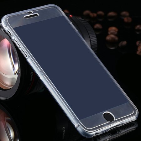 For Iphone6 5.5 Case Flexible Durable Transparent Clear Case For I 2053012130-3-White