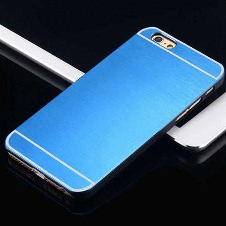 Hot Luxury Brand Brush Aluminum Metal Case For Iphon 32226437912-4-Blue