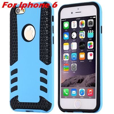 Luxury Rocket High Quality Pc+Tpu Hybrid Hard Case For Iphone 6 Pl 32255559642-1-Sky blue For I6