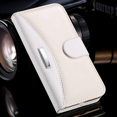 Hot Classic Business Style High Quality Pu Leather Case For Iphone 32254791794-2-White
