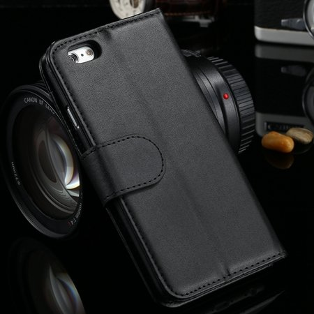 For Iphone 6 Plus Wallet Case Luxury Flip Pu Leather Case For Ipho 2055768856-1-Black