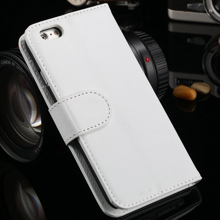 For Iphone 6 Plus Wallet Case Luxury Flip Pu Leather Case For Ipho 2055768856-3-White