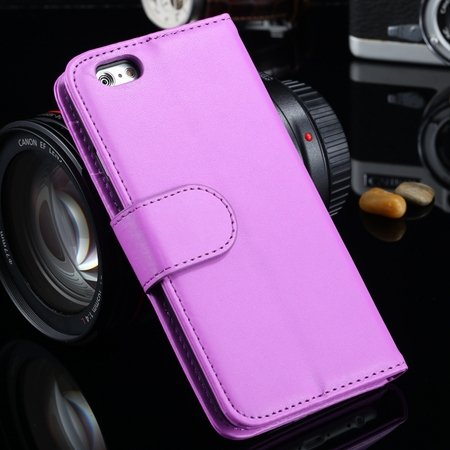 For Iphone 6 Plus Wallet Case Luxury Flip Pu Leather Case For Ipho 2055768856-10-Purple