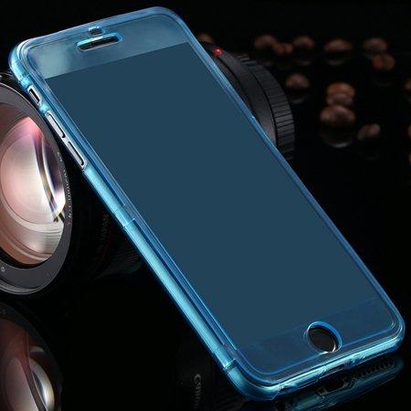 2015 Newest Crystal Clear Soft Tpu Case For Iphone 6 Plus Transpar 32226727991-7-Light Blue