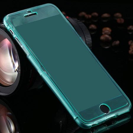 2015 Newest Crystal Clear Soft Tpu Case For Iphone 6 Plus Transpar 32226727991-8-Green