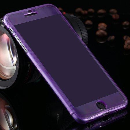 2015 Newest Crystal Clear Soft Tpu Case For Iphone 6 Plus Transpar 32226727991-9-Purple
