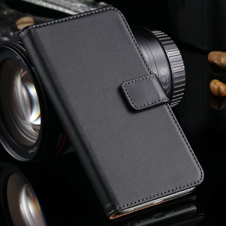 Luxury Retro Top Quality Genuine Leather Case For Iphone 6 Plus 5. 32213204541-1-Black