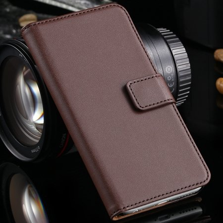 Luxury Retro Top Quality Genuine Leather Case For Iphone 6 Plus 5. 32213204541-5-Brown