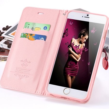 Hot Special For Girls Lovely Cherry Phone Cases For Iphone 6 Plus  2055000379-5-Pink