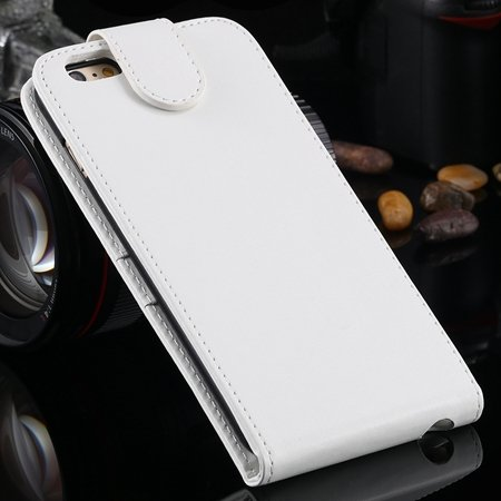 New Arrival Retro Pink Pu Leather Vertical Flip Case For Iphone 6  2027538805-2-White