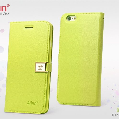 Red Retro Luxury Pu Flip Leather Case For Iphone 6 Plus 5.5Inch Bo 32271250447-3-Green