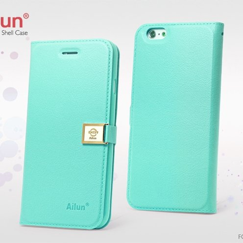Red Retro Luxury Pu Flip Leather Case For Iphone 6 Plus 5.5Inch Bo 32271250447-4-Mint