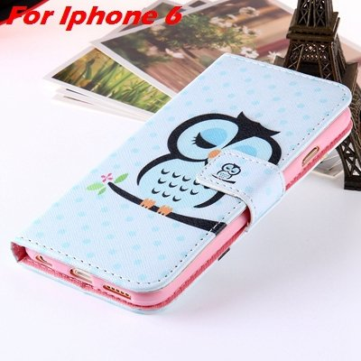 For Iphone 6 Leather Case Premium Wallet Stand Flip Card Slot Pu L 32255156267-3-For Iphone 6