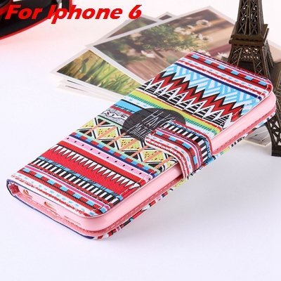 For Iphone 6 Leather Case Premium Wallet Stand Flip Card Slot Pu L 32255156267-6-For Iphone 6
