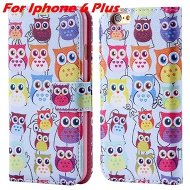 For Iphone 6 Leather Case Premium Wallet Stand Flip Card Slot Pu L 32255156267-8-For Iphone 6 Plus