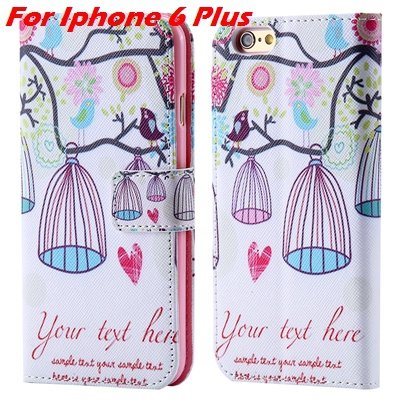 For Iphone 6 Leather Case Premium Wallet Stand Flip Card Slot Pu L 32255156267-10-For Iphone 6 Plus
