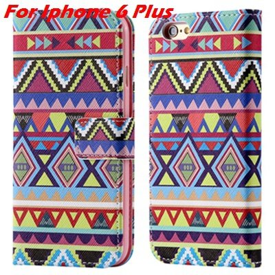 For Iphone 6 Leather Case Premium Wallet Stand Flip Card Slot Pu L 32255156267-11-For Iphone 6 Plus