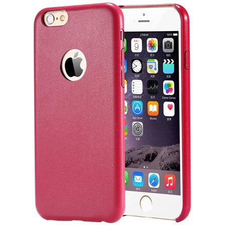Gold Luxury Back Pu Leather Case For Iphone 6 Plus 5.5Inch Cell Ph 32271193158-5-Red