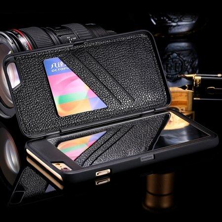 2015 Fashion Lady Necessary 3D Water Pattern Flip Pu Leather Case  32278322685-1-Black