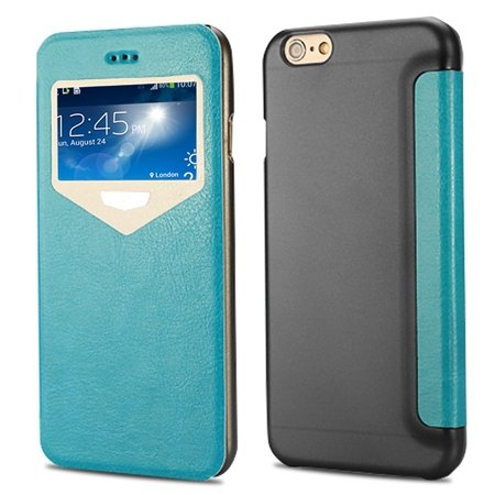 "2015 New Luxury Vinatge Pu Leather Case For Iphone 6 Plus 5.5"""" Win 32270584493-2-Blue"