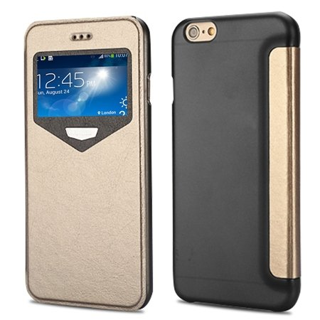 """2015 New Luxury Vinatge Pu Leather Case For Iphone 6 Plus 5.5"""""""" Win 32270584493-4-Gold"""