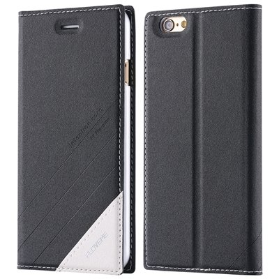 For Iphone 6 Plus Case Luxury Cool Pu Leather Case For Iphone 6 Pl 32269729965-1-Black