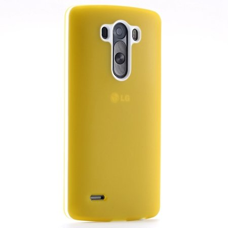 G3 Case Cute Lovely Soft Silicone Case For Lg G3 D857 D858 Protect 2028266832-7-Yellow