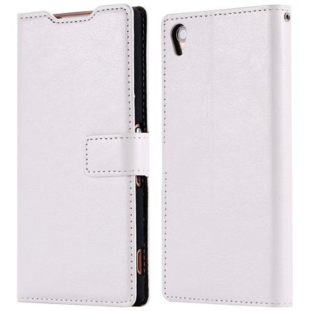 2015 New Arrival Luxury Pu Leather Case For Sony Xperia Z3 D6603 F 32278842578-3-White