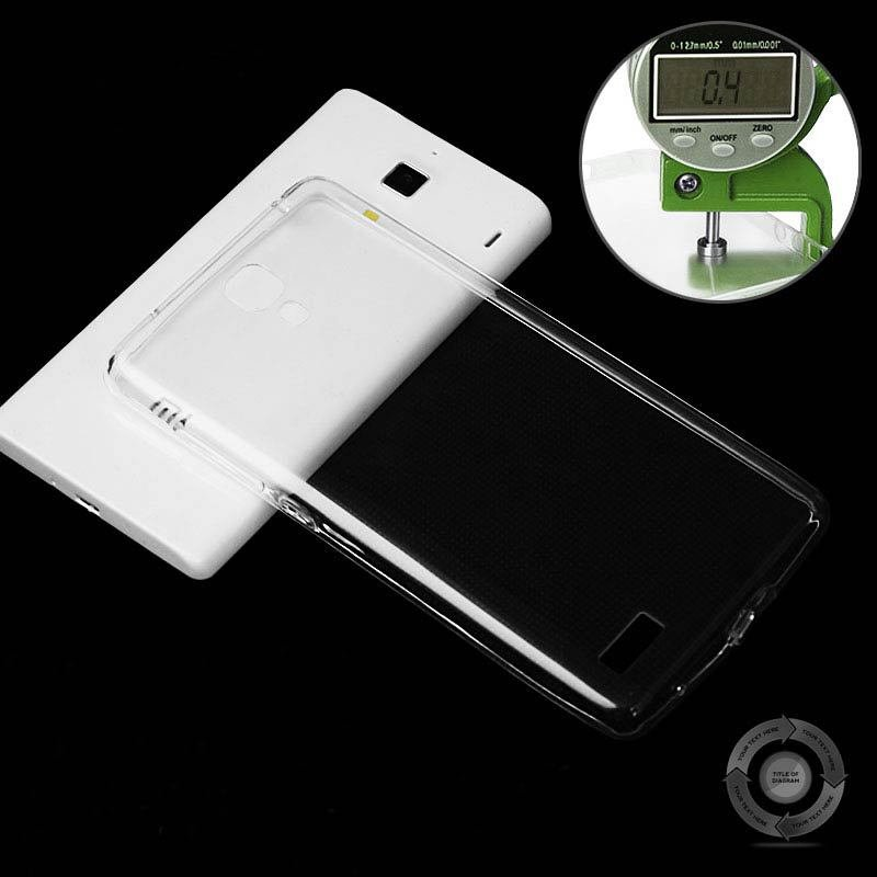 For Xiaomi Red Rice Case Ultra Thin 0.3Mm High Clear Transparent C 32276803208-1-Clear