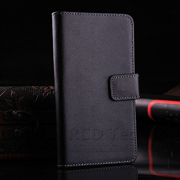 M7 Luxury Genuine Leather Case For Htc One M7 801E Flip Wallet Cas 1527023520-1-black