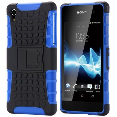 Z2 Unique Vintage Slip-Proof Pc Hard Back Case For Sony Xperia Z2  32270863006-7-Blue
