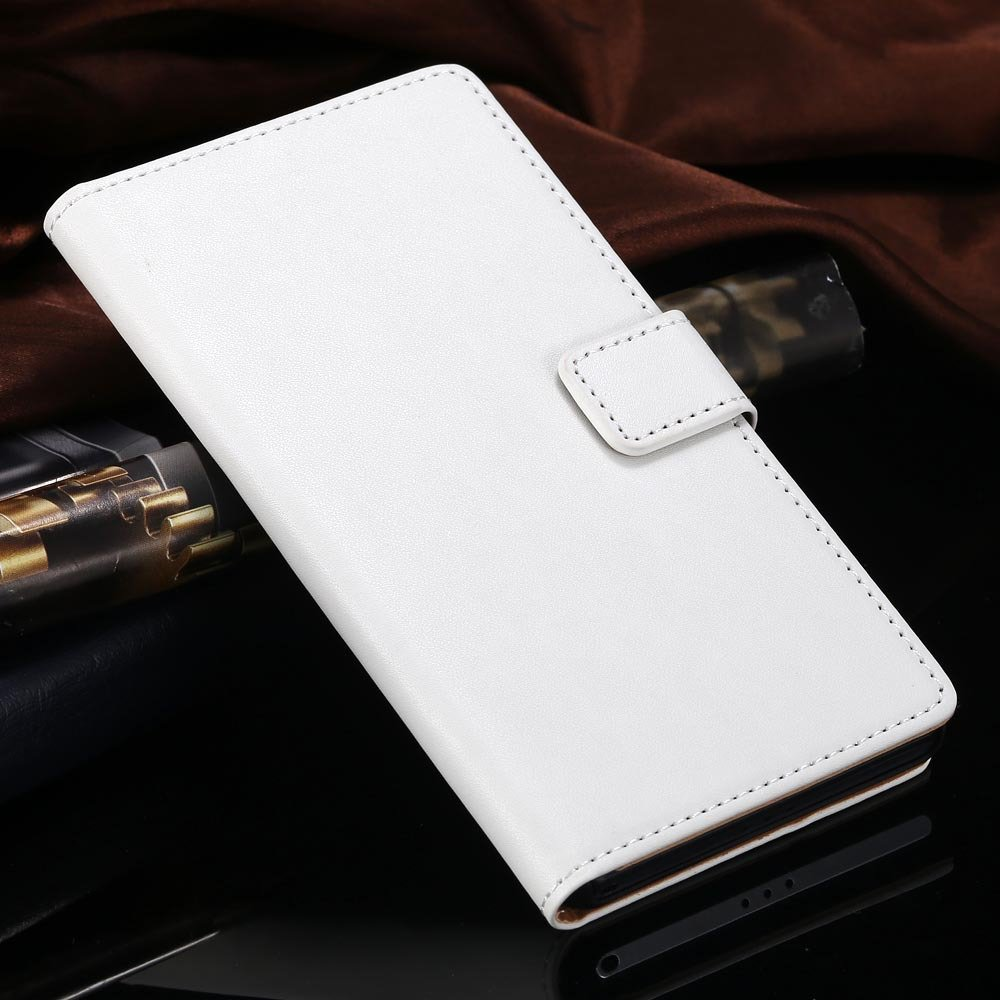 For Xperia Z2 Case Luxury Top Quality Genuine Leather Case For Son 1815119136-2-white