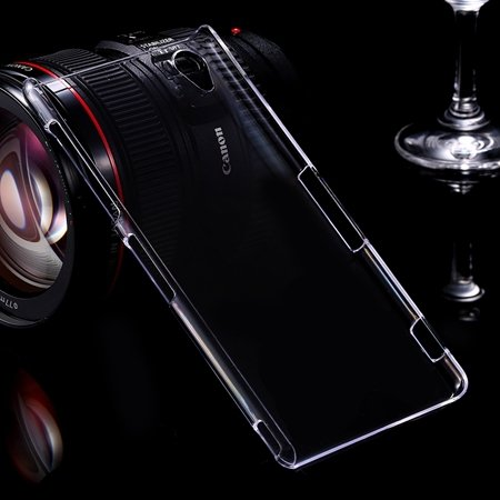 For Xperia Z3 Transparent Case Cool Simple Glass Crystal High Clea 32286871851-1-Clear